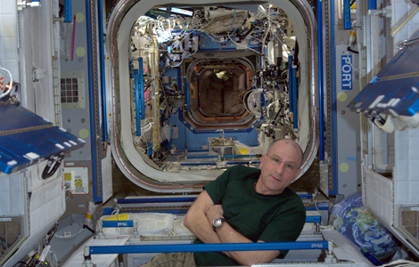 Me in Node 2, Deck 5, ISS, LEO 51.603.