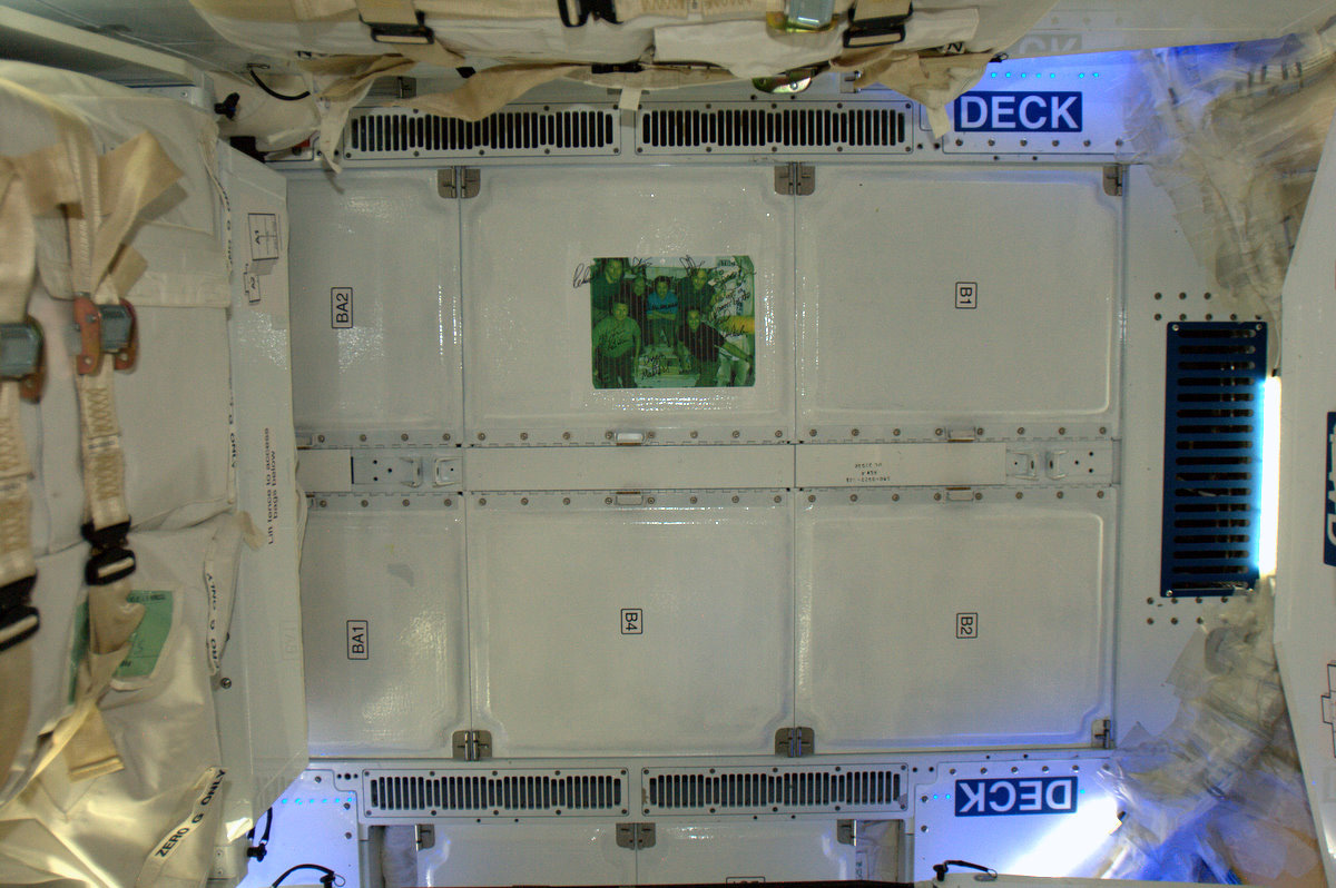 Inside SpaceX Dragon