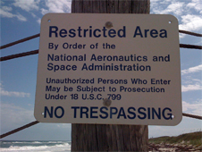 Image of a Restricted Area sign. Image credit: cmurtaugh on Flickr
