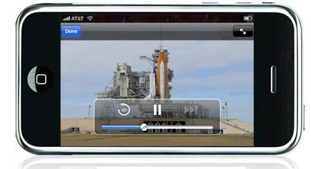 NASA TV on the iPhone