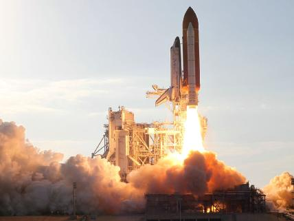 Launch of STS-133 Space Shuttle Discovery