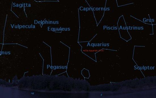 Eta Aquarids – Watch the Skies