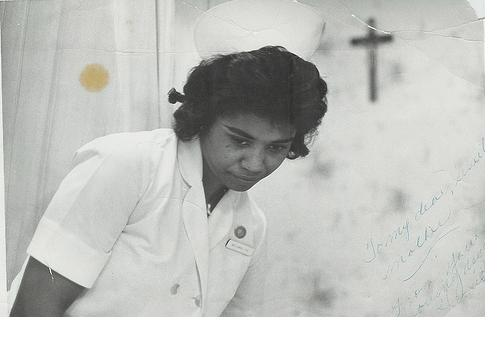 Linda's Mother as young nurse at Georgetown University Hospital