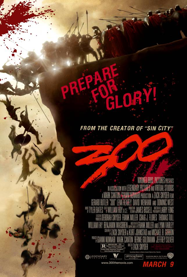 Poster from Movie 300 - Prepare for Glory