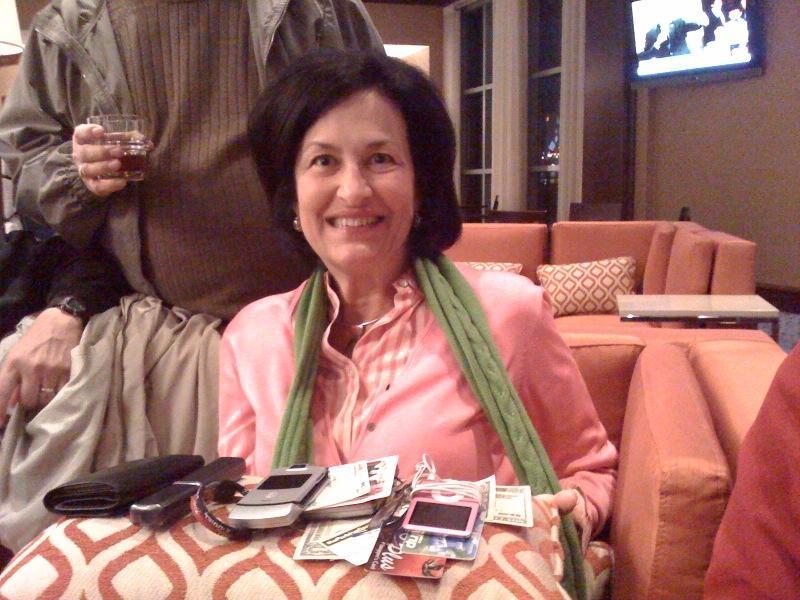 JSC Deputy CIO Dot Swanson admires her potential windfall
