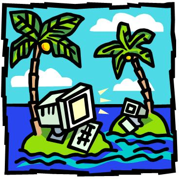 Technology on a desert island