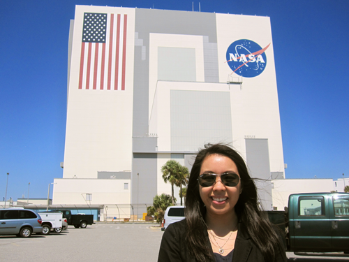 Katrina at Kennedy Space Center | Image Credit: Melissa Ogumanam