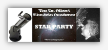 School's Star Party banner