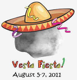 Cartoon of Vesta with sombrero