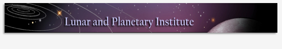 Lunar and Planetary Institute banner