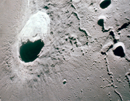 images of moon's surface
