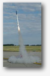 Launch of sounding rocket