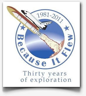 Because it flew logo