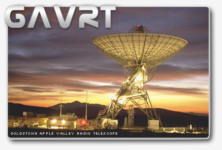 Radio telescope at Apple Valley complex