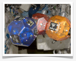 SPHERE Satellites on the ISS