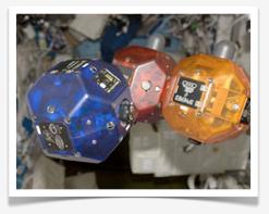 SPHERE Satellites on the ISS