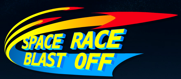 Space Race Blastoff logo
