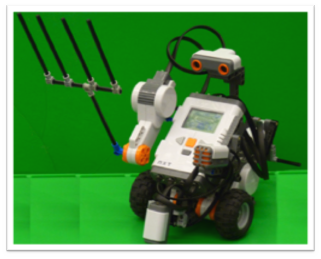 NXT Robot Controller with Arm
