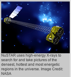 Artist's concept of NuSTAR in orbit