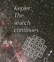 Kepler: The search continues...