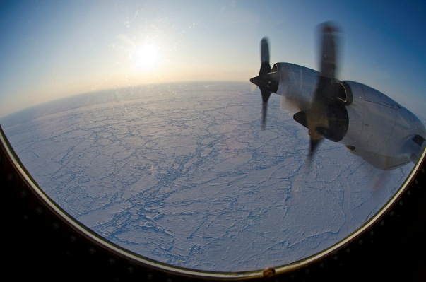 Arctic sea-ice from the NASA P-3