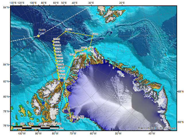 NASA's sea-ice mission plan for April 2