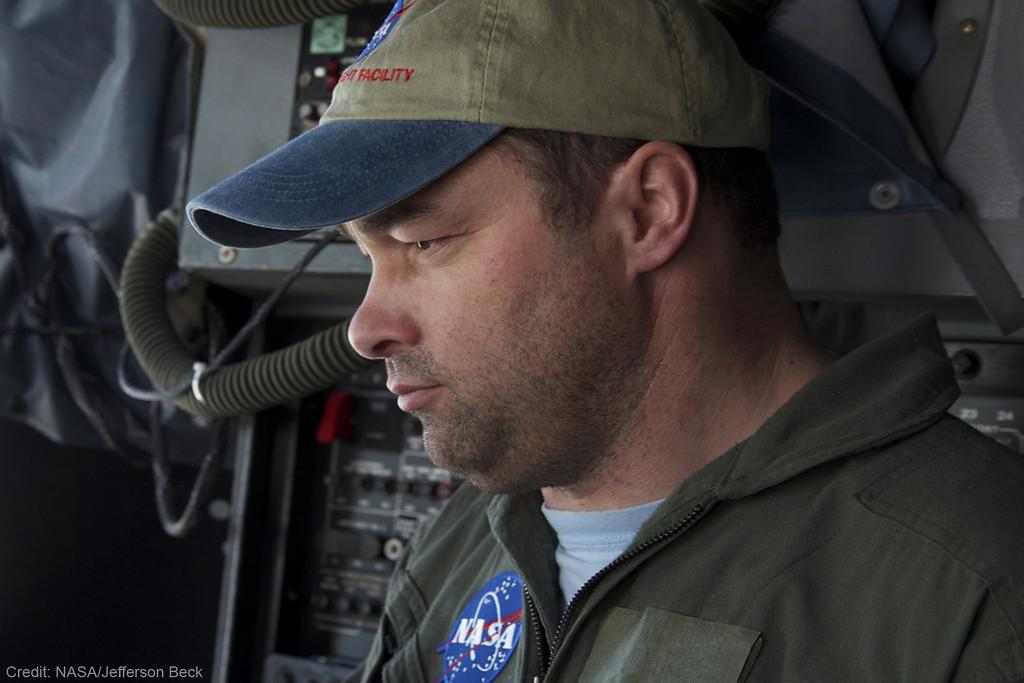 IceBridge project scientist Michael Studinger