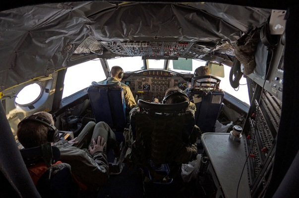 NASA P-3 flight deck