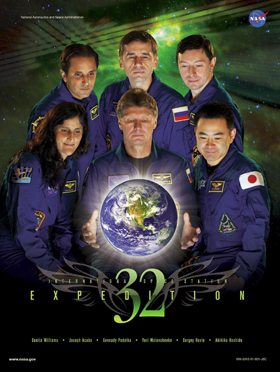 Expedition 32 crew poster
