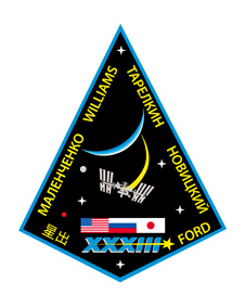 Expedition 33 mission patch