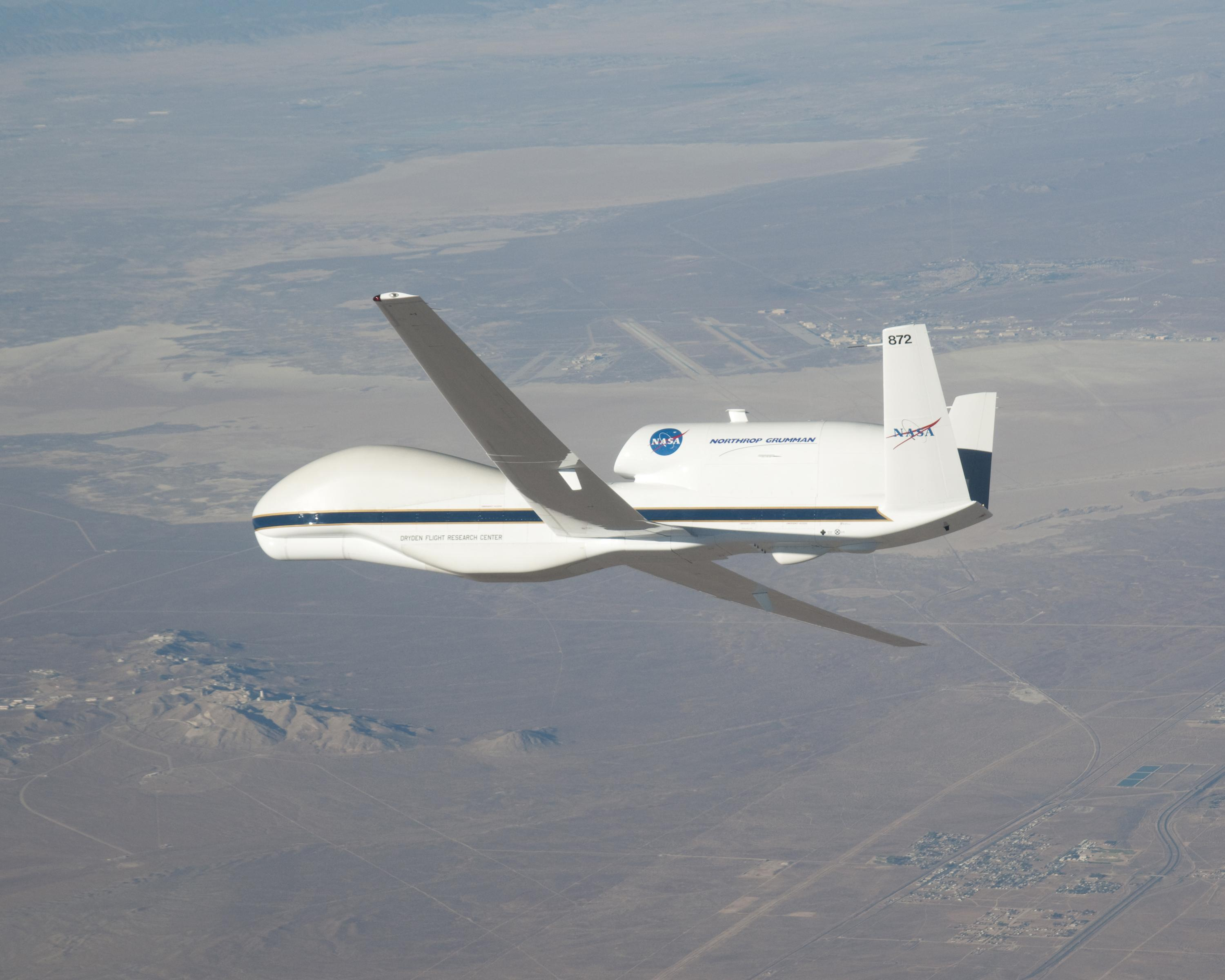 NASA's Global Hawk autonomous plane