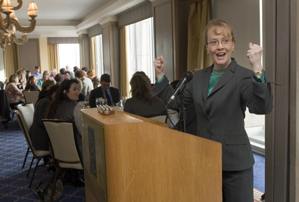 NASA Deputy Administrator Shana Dale at National Association of Women Business Owners - Silicon Valley, Feb. 19, 2008