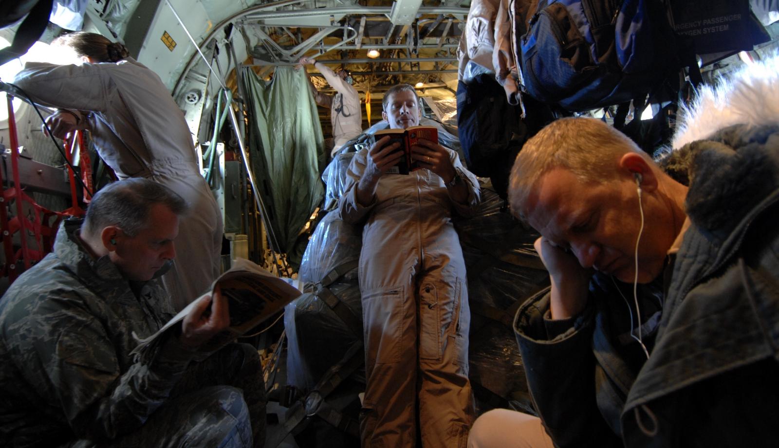 February 2009 – STS-126 Trip