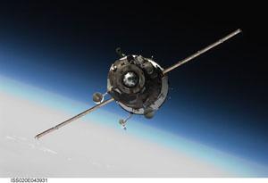 ISS020-E-043931 -- Soyuz TMA-16 spacecraft