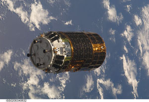 ISS020-E-040632 -- Japanese H-II Transfer Vehicle (HTV)