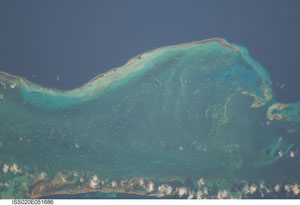 ISS020-E-51686 -- Isla Los Roques, Venezuela