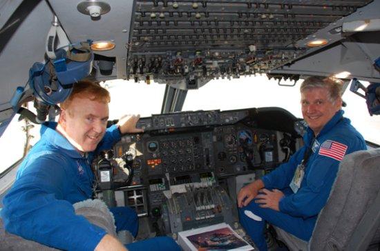 weather   Shuttle Ferry Flight